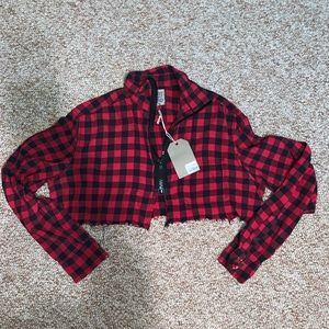 LF cropped flannel